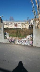recinzione rotta ex consorzio agrario