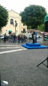 festa 2 giugno. discorso  celebrativo sindaco piazza IV Novembre