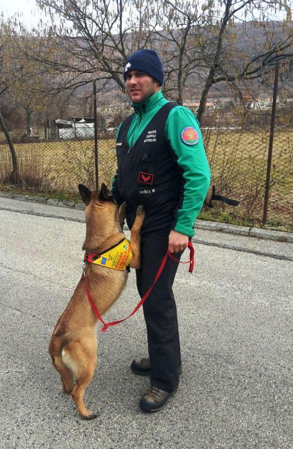 bocconi avvelenati cani carabinieri forestali cinofila