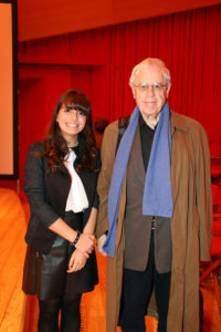 Charles Simic e Francesca Trinchini