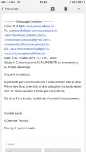 comunicazione ACA