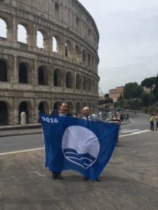 fossa cesia bandiera blu