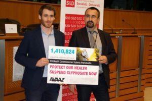 glifosfato petizione