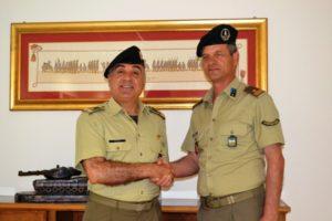 Il Gen. DE VITO e il 1° Mar. Luogt. CARLUCCIO bis