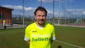 Gianluca Giordani, allenatore del Real Carsoli