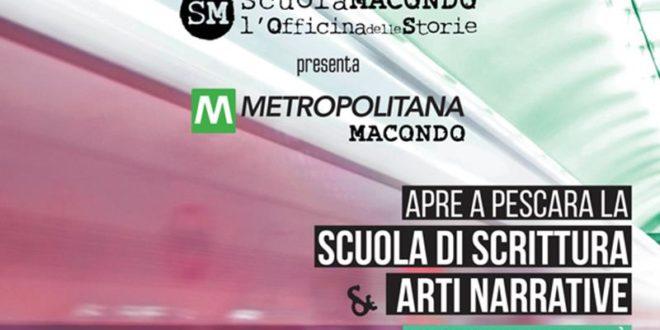 PESCARA. Scrittura creativa, arriva la metropolitana di Scuola Macondo. Oggi la presentazione