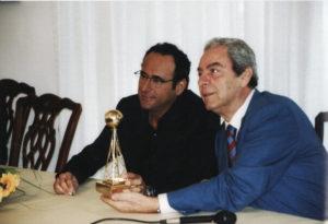 Daniele Piombi e Carlo Conti