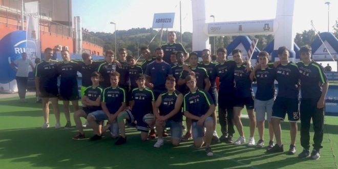 """L'Abruzzo alle """"Feste del Rugby 2018"""": in tanti ad Ancona, dalla rappresentativa U16 al minirugby"""