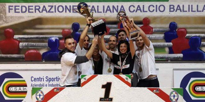 CALCIOBALILLA. PESCARA CAMPIONE D'ITALIA
