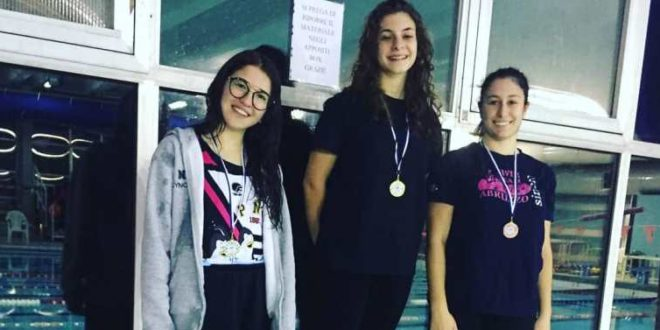 "ILARIA PETRICCA ""PINGUINO NUOTO"",  QUALIFICATA PER I CAMPIONATI ITALIANI CATEGORIA  JUNIOR"