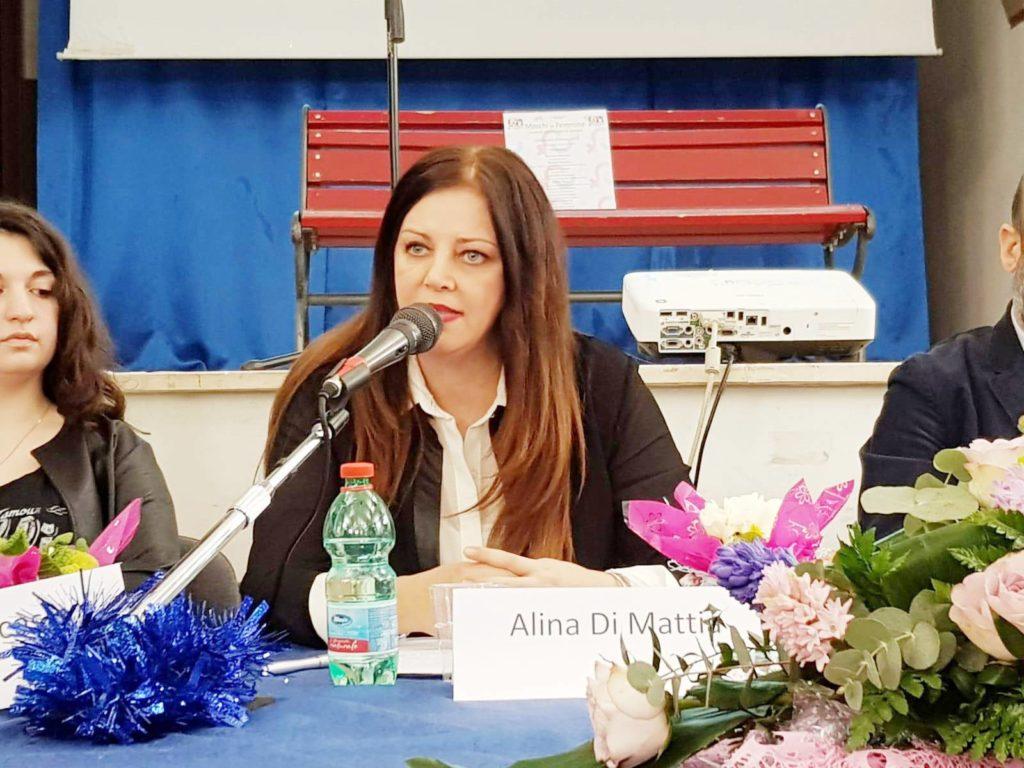 Alina Di Mattia Convegno sulla Violenza