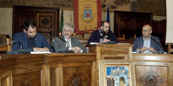 """Grande successo di pubblico alla presentazione del romanzo """"La compagnia del Volto Santo"""" di Francesco Proia"""