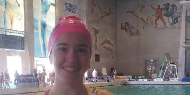 Pinguino Nuoto con Petricca ai campionati Italiani FIN