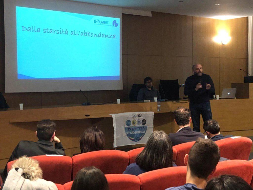 Gianluca Ranieri al convegno universitario