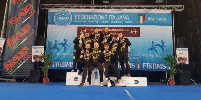 CAMPIONATI ITALIANK KICK BOXING, OTTIMI RISULTATI DEL K.O. TEAM
