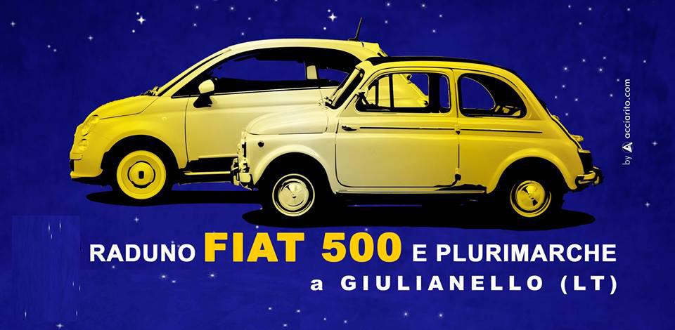 Calendario Raduni Fiat 500 2020.Domenica 16 Giugno Raduno 500 A Giulianello Lt Il Faro 24
