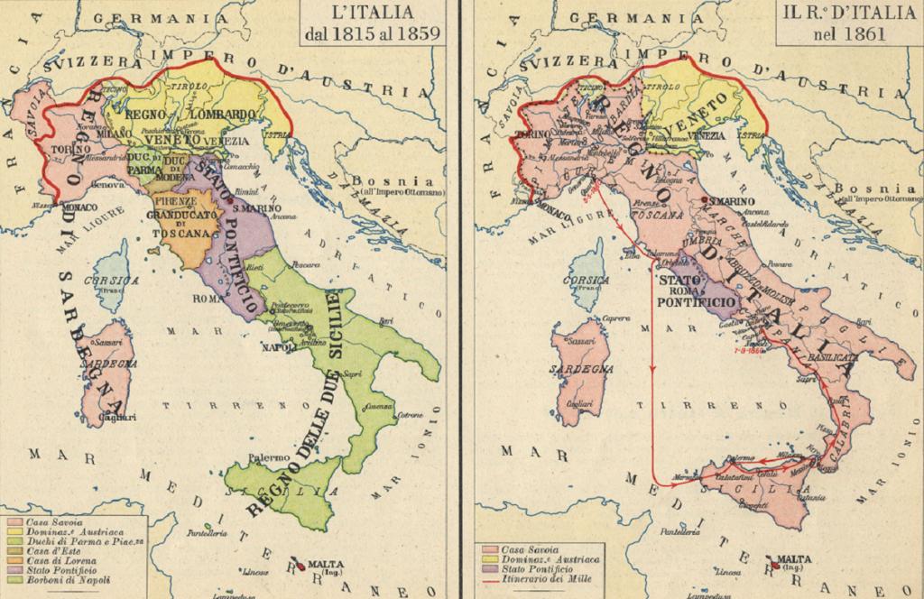 unificazione dell'italia
