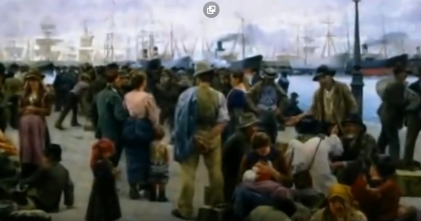 meridione emigranti genocidio