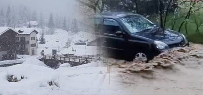 Meteo. Temporanee nevicate al Nord. Dopo la nuvolosità, arriveranno forti piogge e nevicate sull'Appennino
