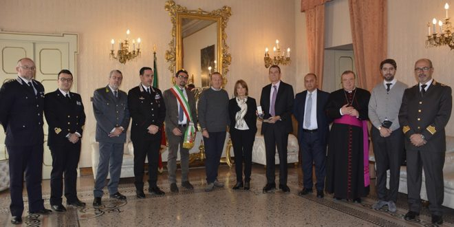 """"""" GIORNO DELLA MEMORIA"""" CERIMONIA IN RICORDO DI GIOVANNI PALATUCCI  EX QUESTORE DI FIUME, BEATO"""