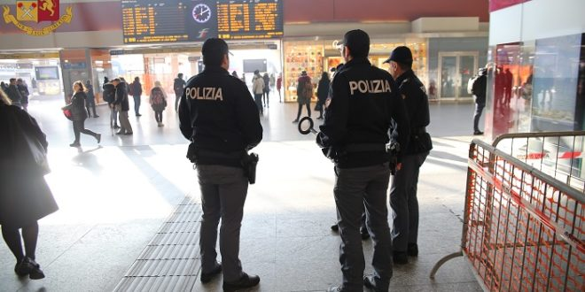 CONTROLLI NELLA SETTIMANA EFFETTUATI DALLA POLIZIA DI STATO NELLE STAZIONI FERROVIARIE DI MARCHE, UMBRIA E ABRUZZO