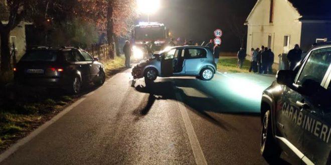 SCHIANTO CONTRO AUTO IN SOSTA, TRAUMA CRANICO PER UN BIMBO DI 5 ANNI