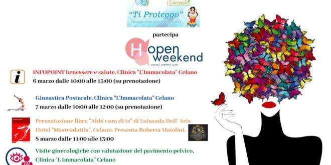 Celano.Ginecologia: torna l'(H)-Open Weekend di Fondazione Onda