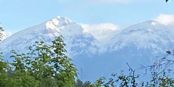 Meteo. Neve sulla cima del Velino e del Cafornia. Variabile nei prossimi giorni