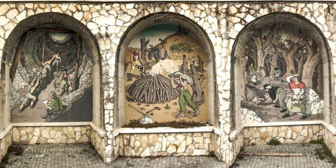 TUTTO PRONTO A SANTE MARIE PER FLOREO: 14 STREET ARTIST DA TUTTA ITALIA PER RIFARE IL LOOK AL PAESE