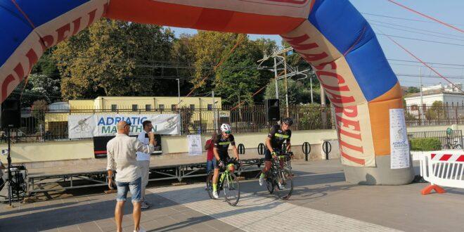 Abruzzo-Molise-Puglia e ritorno no-stop: partito da Francavilla l'evento endurance Adriatic Marathon Ultracycling Challenge