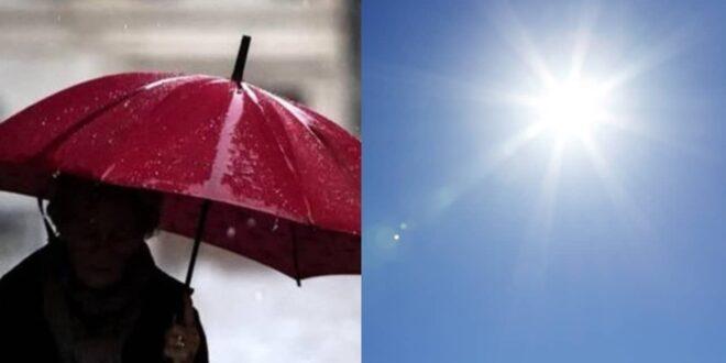 Meteo. Marzo si aggiudica la variabilità primaverile. Poi di nuovo alternanza tra momenti soleggiati e fasi piovose. E' tipico della Primavera bislacca