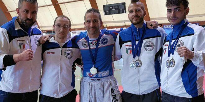 10 APRILE 2021 ANGUILLARA (RM) – TORNA LA KICKBOXING CON NUOVI SUCCESSI PER L'ASD MMA