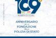 10 APRILE 2021; 169° ANNIVERSARIO DELLA FONDAZIONE DELLA POLIZIA DI STATO
