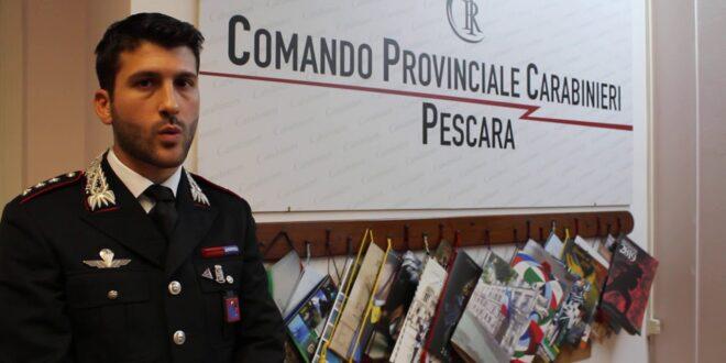 IL CAPITANO ANTONIO DI MAURO LASCIA IL COMANDO DELLA COMPAGNIA DI PESCARA