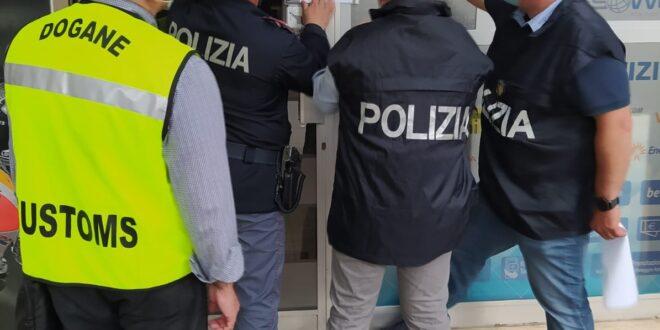 PESCARA: LA POLIZIA  SEQUESTRA  UN'AGENZIA DI SCOMMESSE ABUSIVA