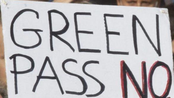 "PESCARA. MANIFESTAZIONE ""NO GREEN PASS"""