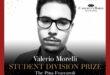 VALERIO MORELLI,  CANTANTE LIRICO ABRUZZESE VINCE LA SEZIONE GIOVANI AL CAMERATA BARDI INTERNATIONAL VOCAL COMPETITION DI NEW YORK